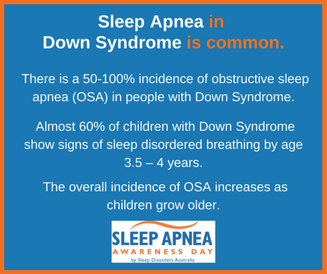 Sleep Apnea in Down Syndrome is common