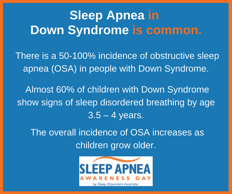 Downs Syndrome and Sleep Apnea