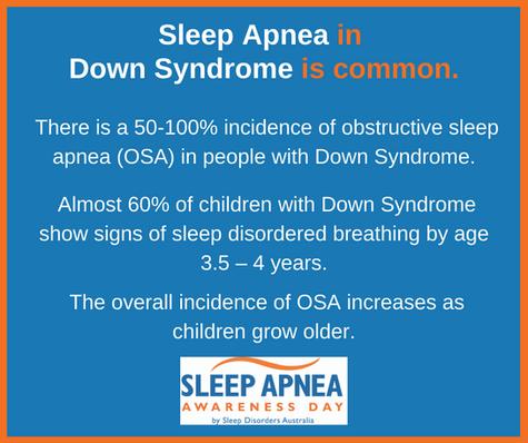 Sleep Apnea in Down Syndrome is common