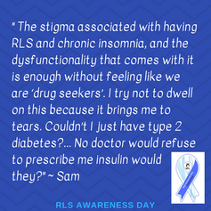 Restless Legs Syndrome Awareness Day