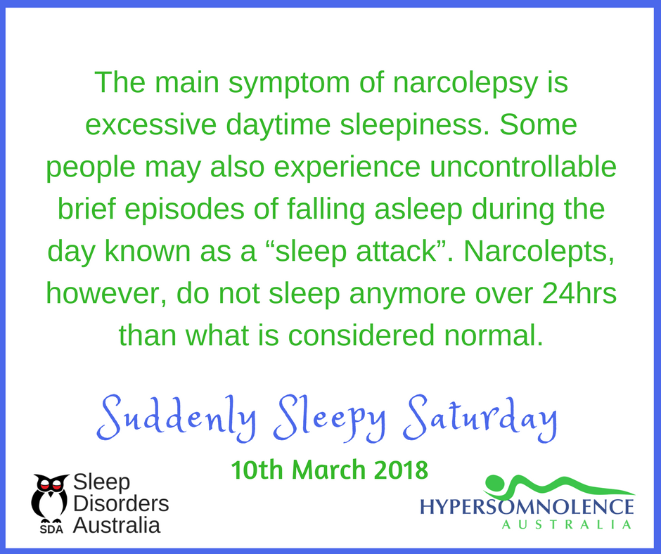 Narcolepsy Awareness Day