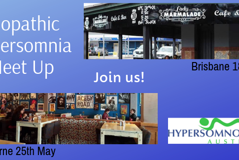 Idiopathic Hypersomnia Meet Up's