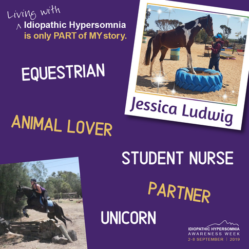 I'm Jess, I'm 25 and was diagnosed with Idiopathic Hypersomnia in 2017.