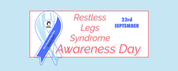 RLS Awareness Day Facebook Cover to download and use.