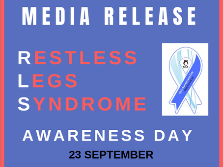 Restless Legs Syndrome Awareness Day 2019