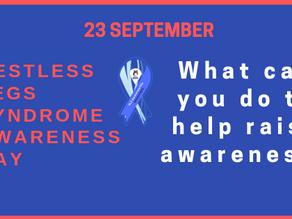 RLS Awareness Day - How can you help raise awareness?