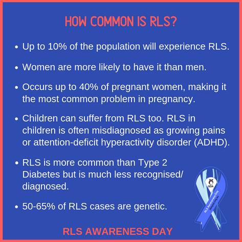 How common is RLS?
