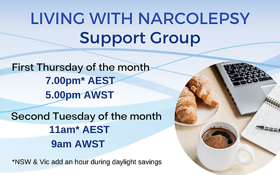 Narcolepsy Support Group website.png