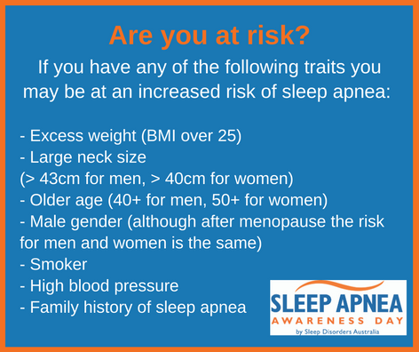 Sleep Apnea Are you at risk?