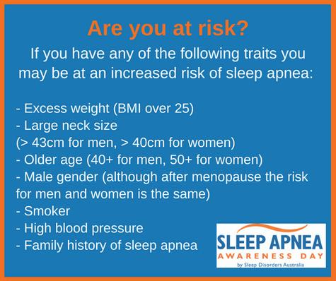 Sleep Apnea Are you at risk?