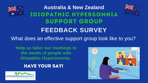 IH Support Group - Have your say