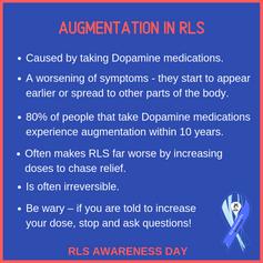 Augmentation in RLS