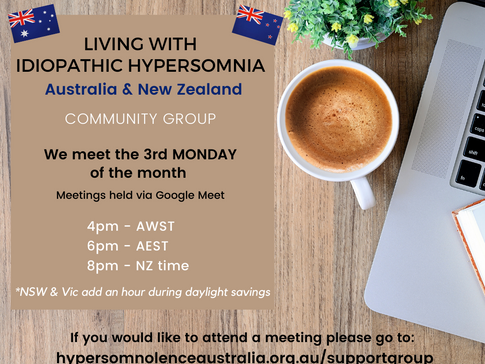 Living with IH Community Group