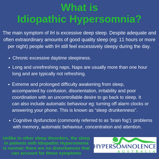 What is Idiopathic Hypersomnia