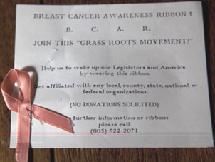 "Startling Truth Behind ""The Pink Ribbon"""
