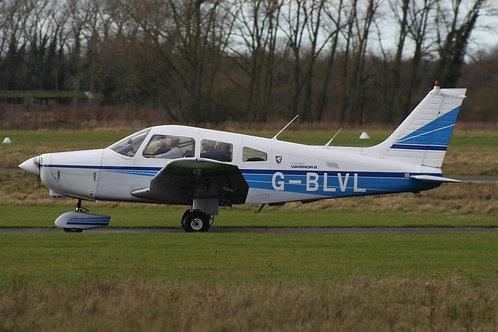4 seat Piper Warrior Trial Flight 30 mins