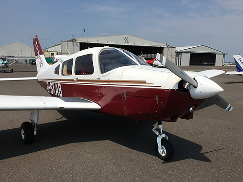 4 seat Piper Warrior Trial Flight 1 hour