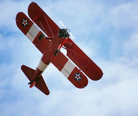 Boeing Stearman Vintage Trial Flight 30 mins