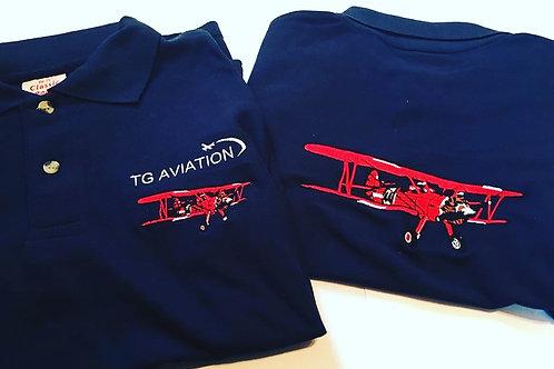 TG Aviation Stearman Polo Shirt