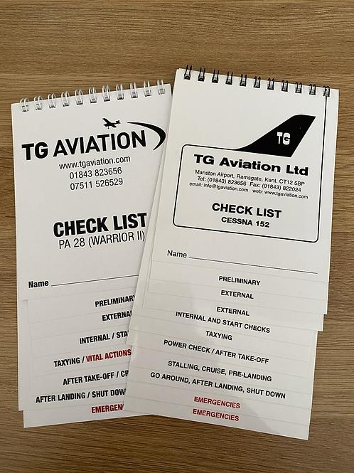 Aircraft Checklist