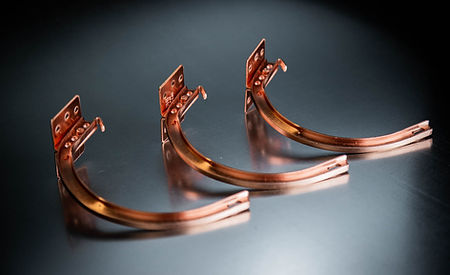 Copper Shank & Circle (W/ Brass Spring Clip)