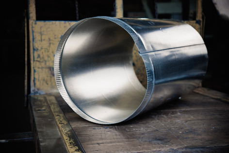 Single Wall Stove Pipe (Large)