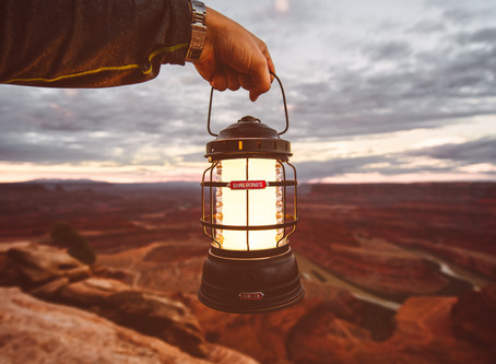 We LOVE this L.E.D. Camping Lantern