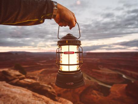 We LOVE this L.E.D. Camping Lantern
