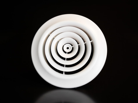 P20 Plastic Round Ceiling Diffuser