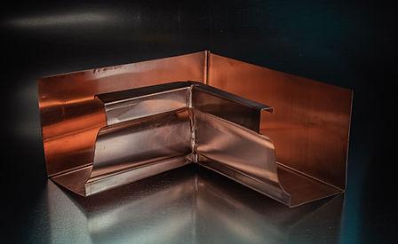 Copper K-Style Inside Miter