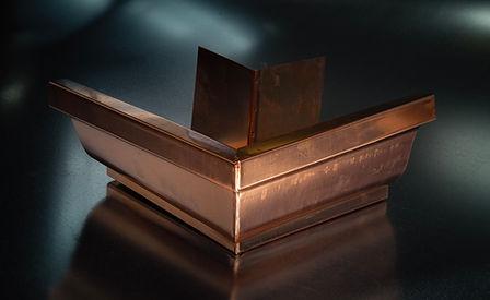 Copper K-Style Outside Miter