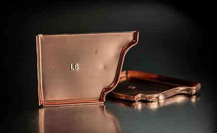 Copper Left K-Style End Caps