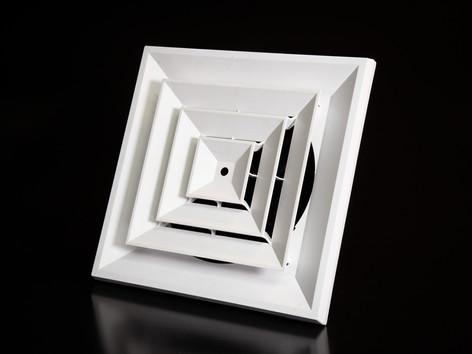 P19 Plastic Square Ceiling Diffusers