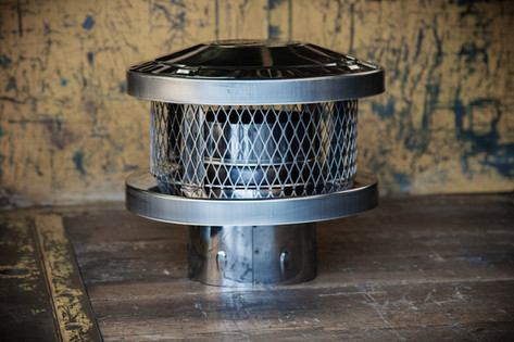 Stainless Steel Cap / Spark Arrestor