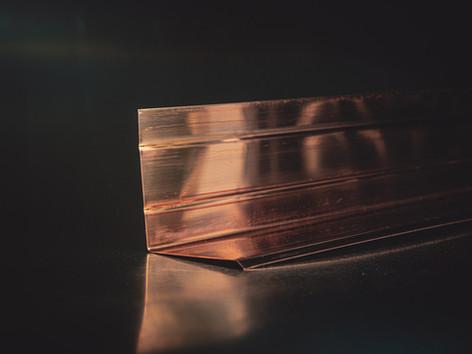Copper Drip Edge
