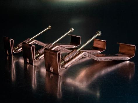 Copper Hidden Hanger (W/ Brass Screw)