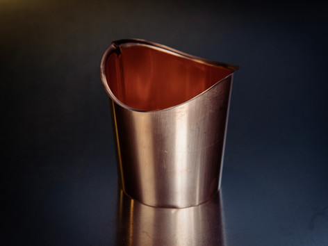 Copper Half Round Gutter Outlet
