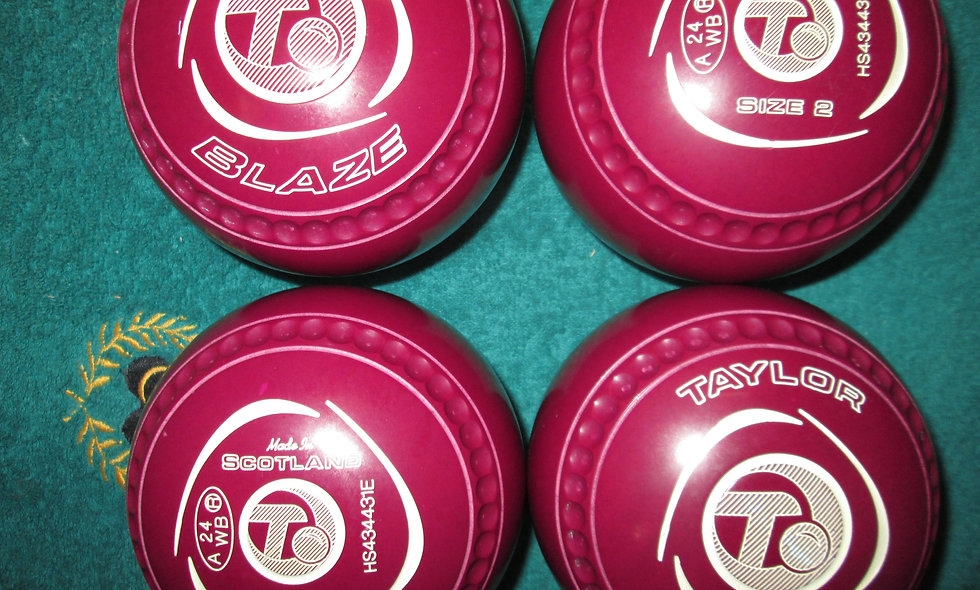 Taylor Blaze bowls - Size 2