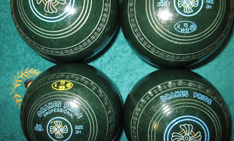 Drakes Pride Professional bowls - Size 3