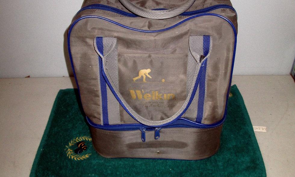 Grey Welkins Bowls Bag