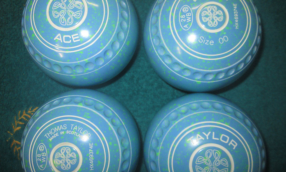 Taylor Ace bowls - Size 00