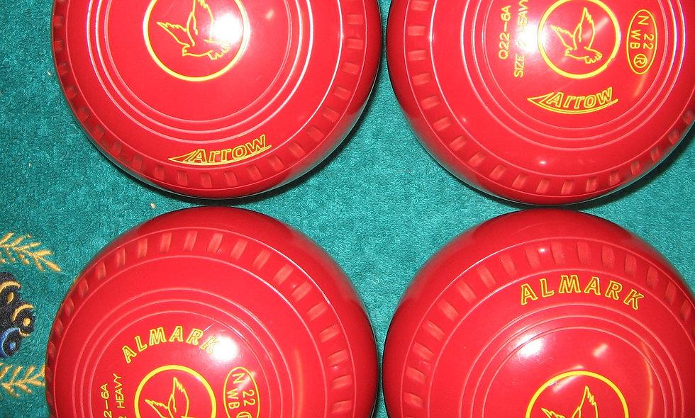 Henselite (Almark) Arrow bowls - Size 2