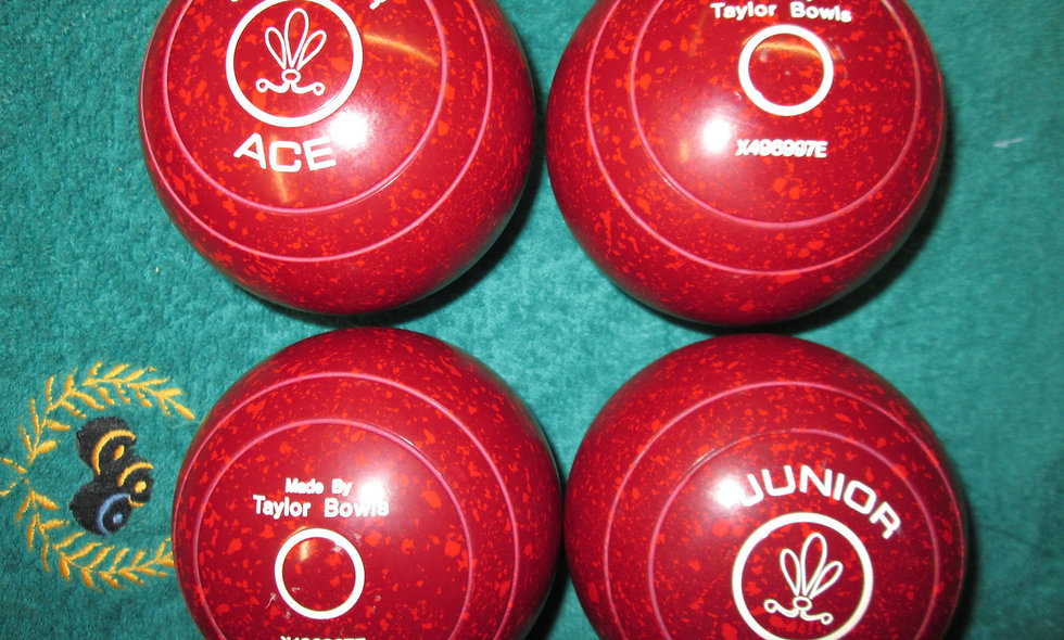 Taylor Junior Ace bowls