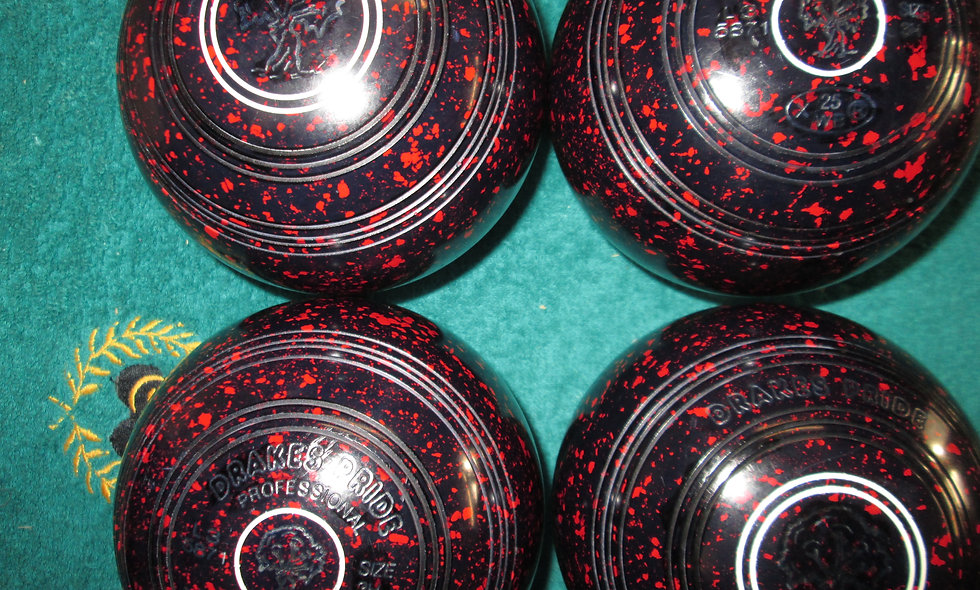Drakes Pride Professional bowls - Size 3