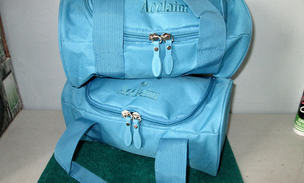Pair of Acclaim Two Bowl Bags - Blue