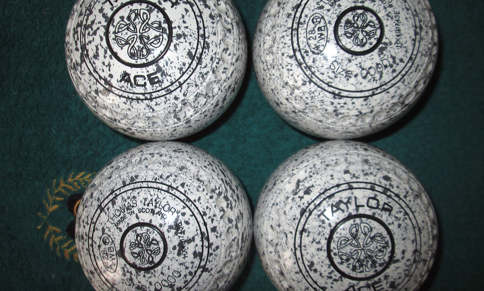 Taylor Ace bowls - Size 0000 (New Size)