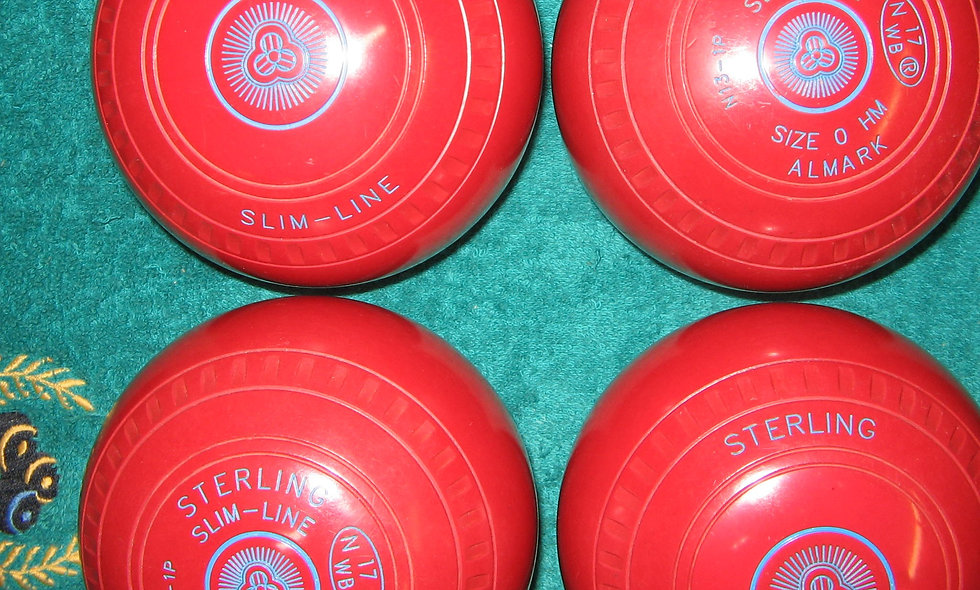 Henselite (Almark) Slimline bowls - Size 0