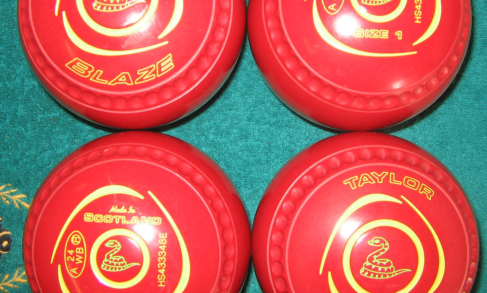 Taylor Blaze bowls - Size 1