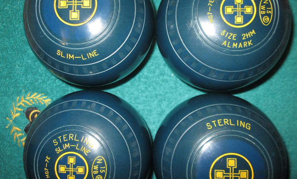 Henselite (Almark) Slimline bowls - Size 2