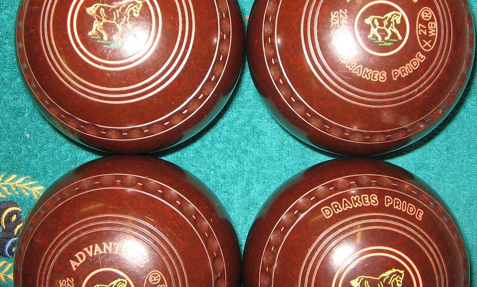 Drakes Pride Advantage bowls - Size 3
